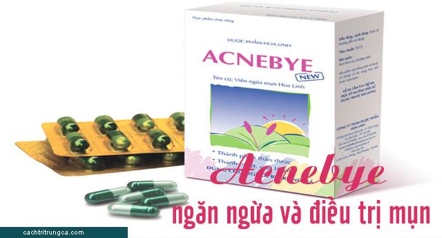 trị mụn bằng acnebye - acnebye hoa linh