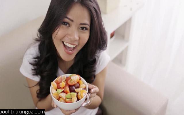 Bị mụn nên ăn trái cây gì