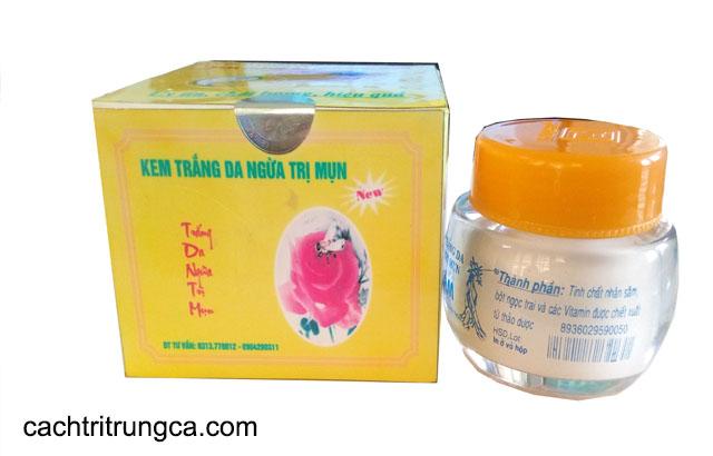 kem Bảo Lâm trị mụn trứng cá