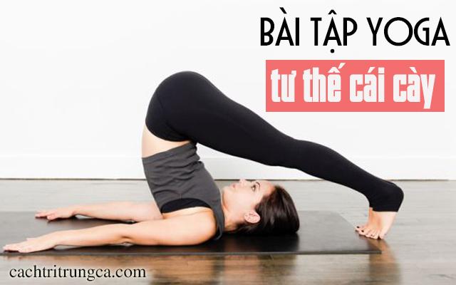 Các bài tập Yoga trị mụn