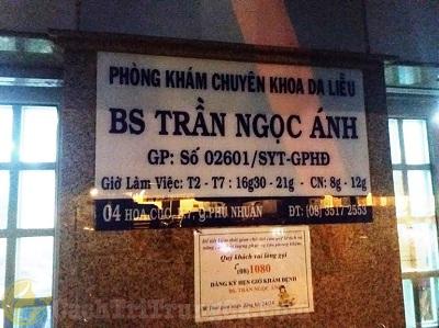 Địa chỉ phòng khám da liễu bác sĩ Trần Ngọc Ánh