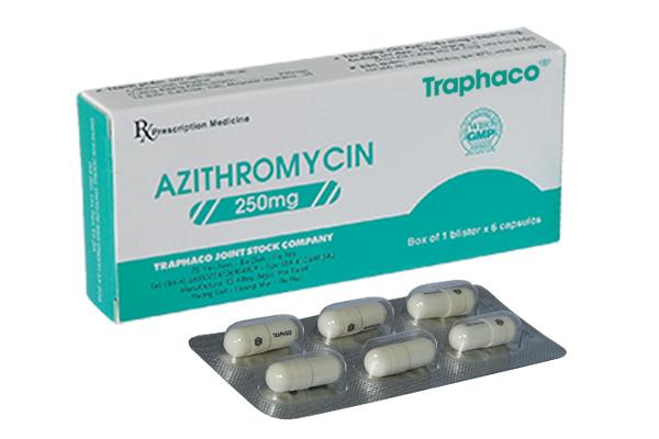 Azithromycin - Công dụng trị mụn trứng cá