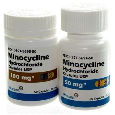 Thuốc kháng sinh trị mụn Minocycline