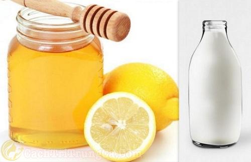 cách trị mụn bọc bằng mật ong chanh và sữa chua
