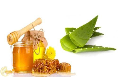 Cách trị mụn bọc bằng mật ong và nha đam