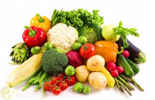 Bổ sung chế độ dinh dưỡng trong quá trình điều trị mụn