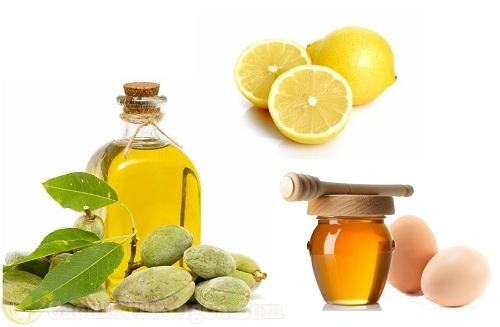 Kết hợp mật ong, trứng gà và dầu oliu trị mụn