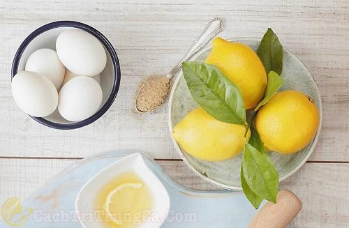 Cách trị mụn bằng trứng vịt và chanh đơn giản