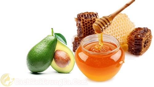 Tác dụng trị mụn ở lưng bằng mật ong và bơ
