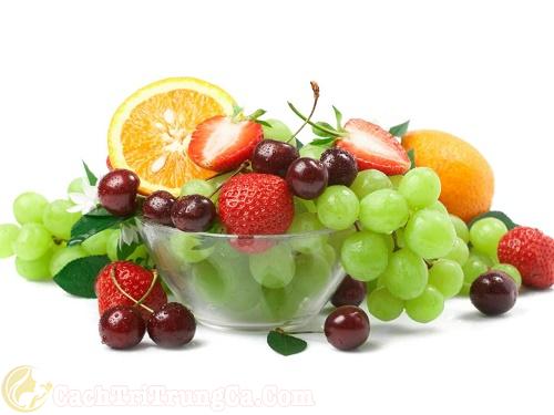 Bổ sung chất dinh dưỡng trong quá trình điều trị mụn lưng