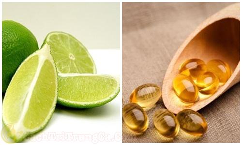 Cách dùng vitamin E bôi lên mặt