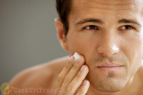 4 bước chăm sóc da mặt cho nam giới