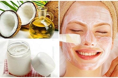 Cách chăm sóc da mặt bằng dầu dừa và sữa chua