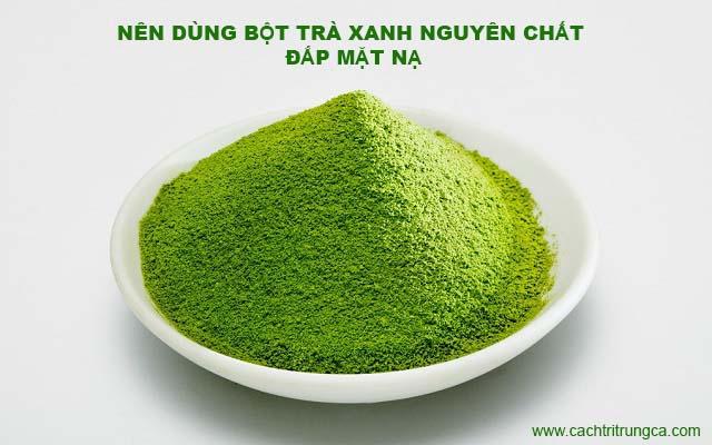 bột trà xanh đắp mặt mua ở đâu tphcm