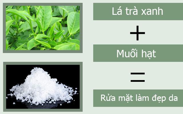 cách rửa mặt bằng nước trà xanh hàng ngày