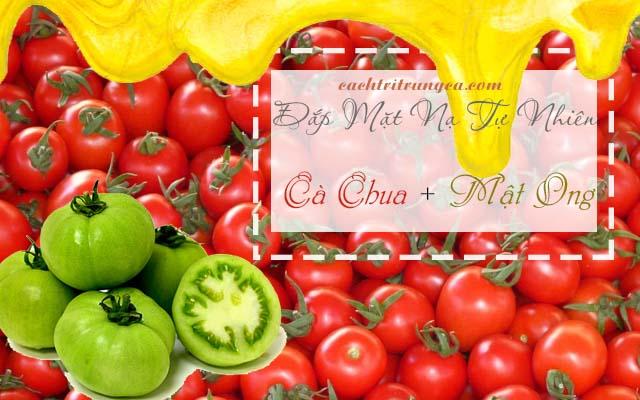 Phương pháp dùng mặt nạ tự nhiên làm đẹp từ cà chua