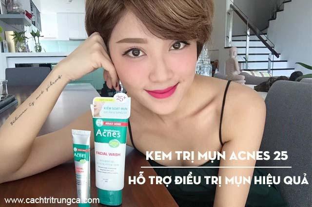 Kem trị mụn acnes 25 bán ở đâu?