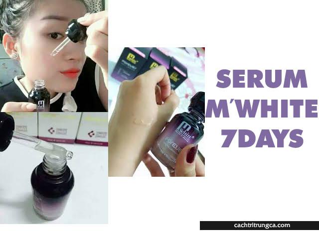 Serum M'White 7 days - serum m white có tốt không