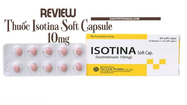 Thuốc isotina có tốt không