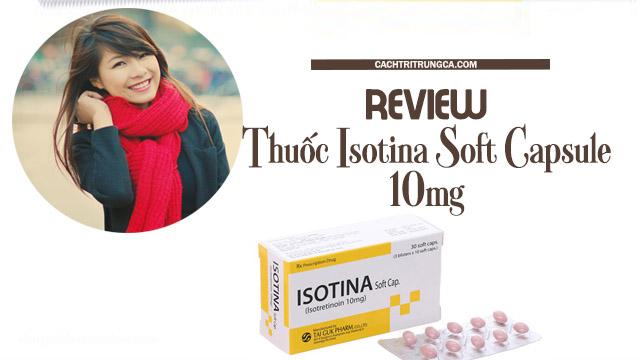 Thuốc Isotina tốt không