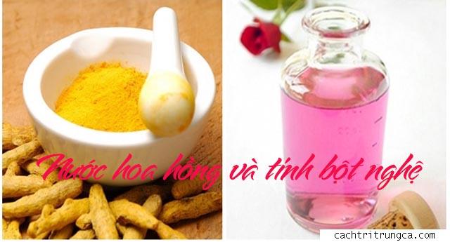 chữa mụn bằng nước hoa hồng hiệu quả - nước hoa hồng trị mụn đầu đen