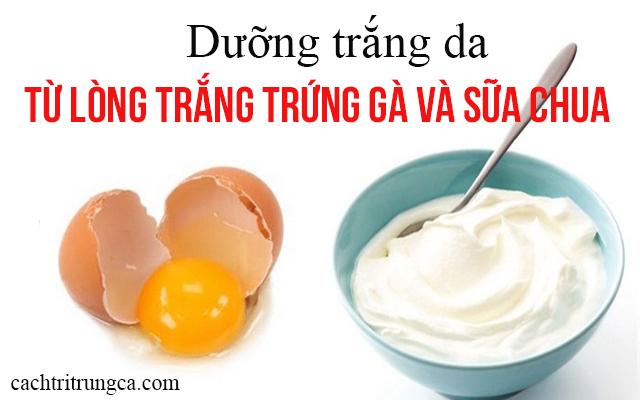 mặt nạ trắng da từ lòng trắng trứng