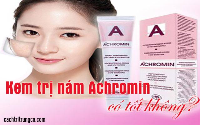 kem achromin trị nám