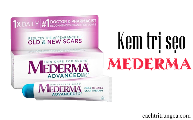 kem trị sẹo mederma của đức