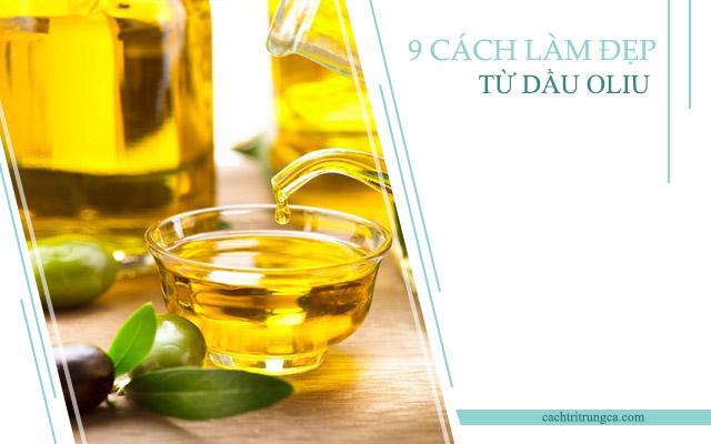 Các cách làm đẹp từ dầu oliu