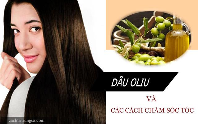 Các cách chăm sóc tóc từ dầu oliu