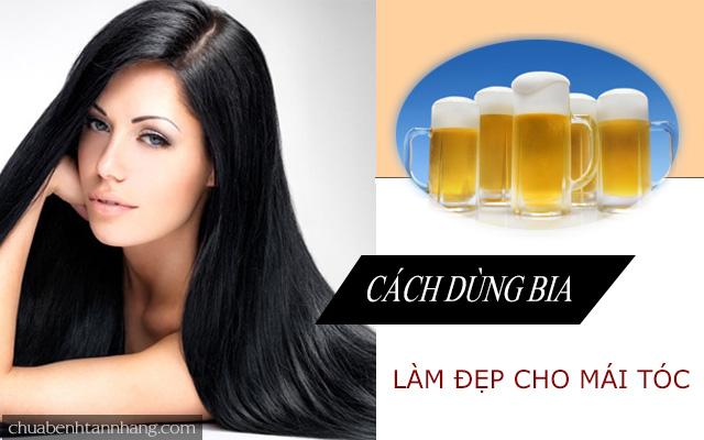 Các cách làm đẹp cho mái tóc từ bia