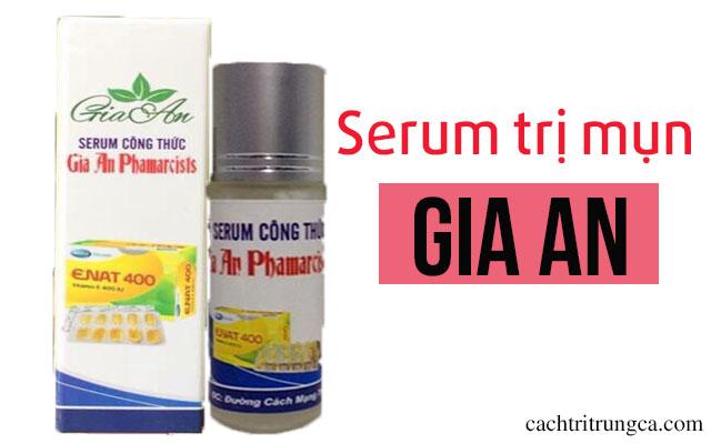 serum trị mụn gia an
